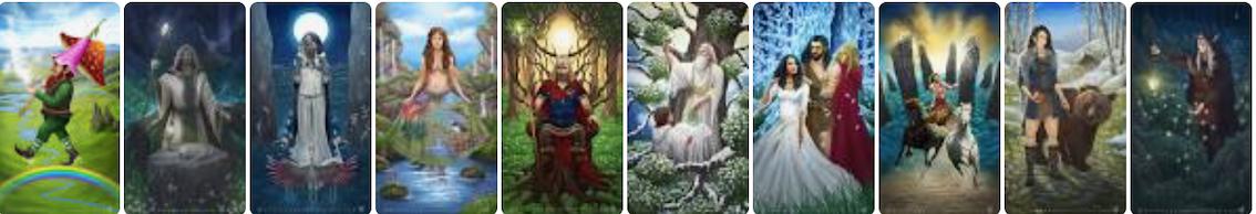 Images celtic tarot